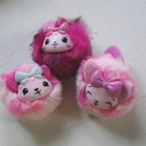 Pikmi pops cheeki puffs mini plush toys